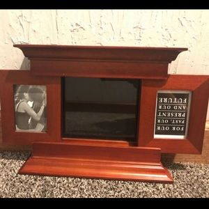 Other - Wooden Picture Frame (holds up to 3)